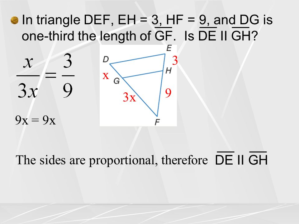 Lesson 7 4 Parallel Lines And Proportional Parts Ppt Download