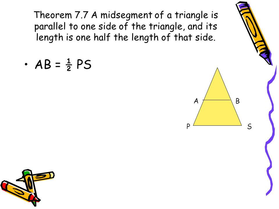 7-4 Parallel Lines and Proportional Parts - ppt video ...