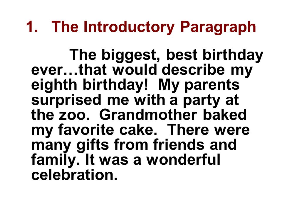 Write my narrative essay on surprise birthday party