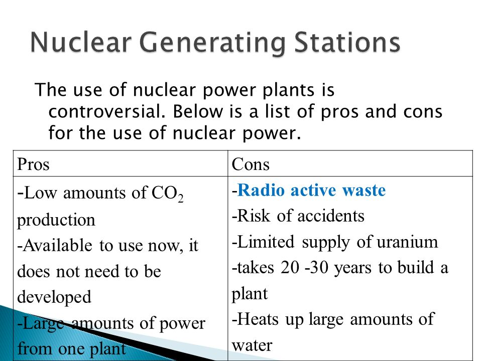 essays on the pros and cons of nuclear power Open document below is an essay on nuclear power pros and cons from anti essays, your source for research papers, essays, and term paper examples.