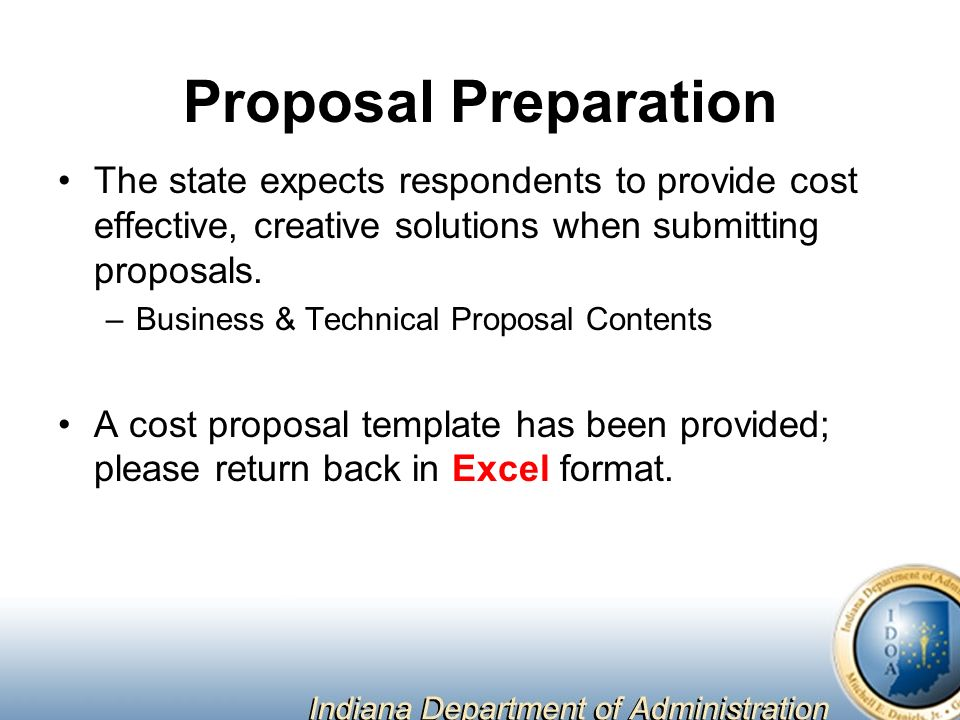 PreProposal Conference May 23 00AM ppt download – Conference Proposal Template