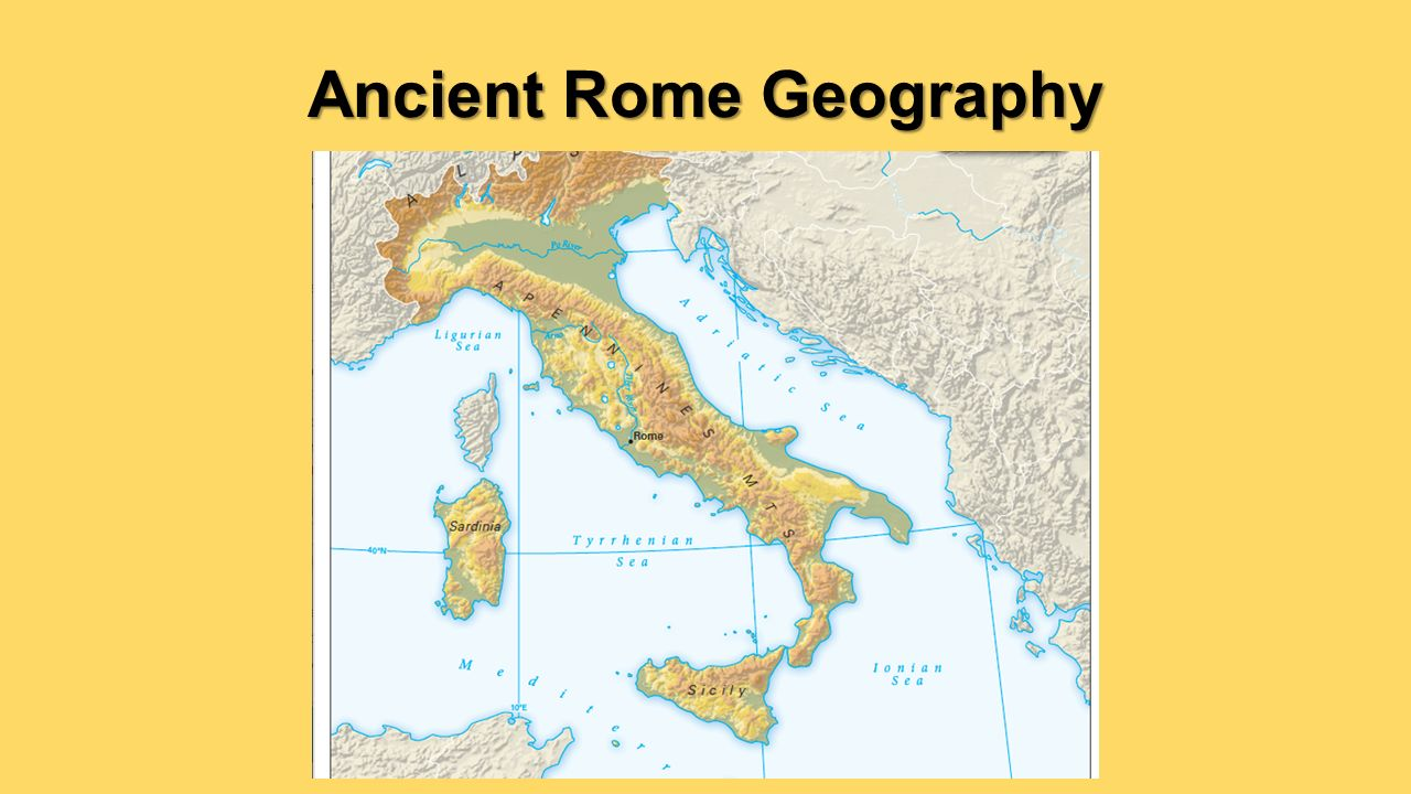an introduction to the history and geography of rome Ancient rome geography  ancient rome did not  the roman empire or republic orwhich was it: crash course world history #10.