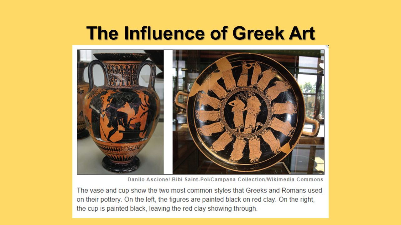 Greek and roman influences on the