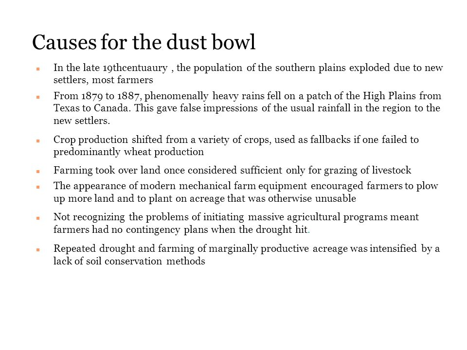 what caused the dust bowl 2 essay What caused the dust bowl dbq essaypdf free download here dustbowlmini-q whatcausedthe dustbowl - the dbq project.