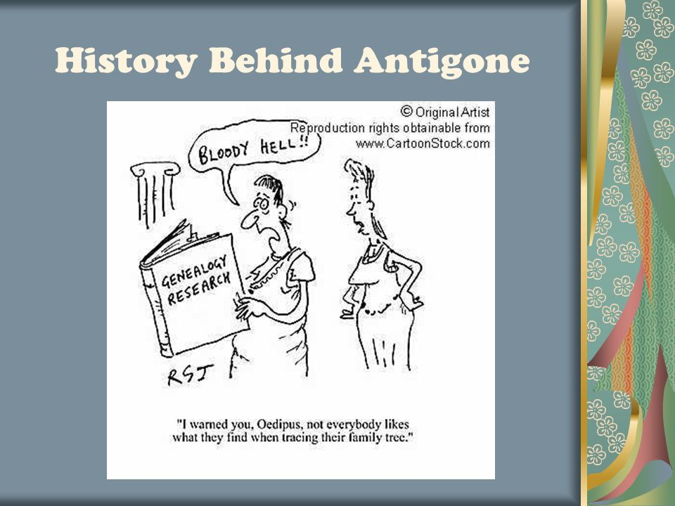 a summary of the story oedipus the king Antigone is the subject of a story in which she attempts to secure a respectable burial for her brother king creon, who has ascended to oedipus and antigone.