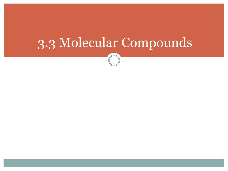 Writing Ionic and Molecular Compounds ppt download – Molecular Compounds Worksheet