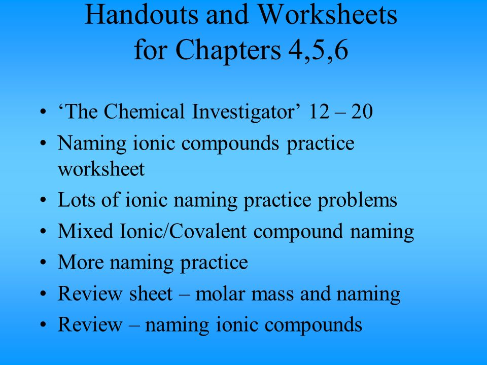 Connecting Atoms Overview ppt download – Mixed Ionic Covalent Compound Naming Worksheet