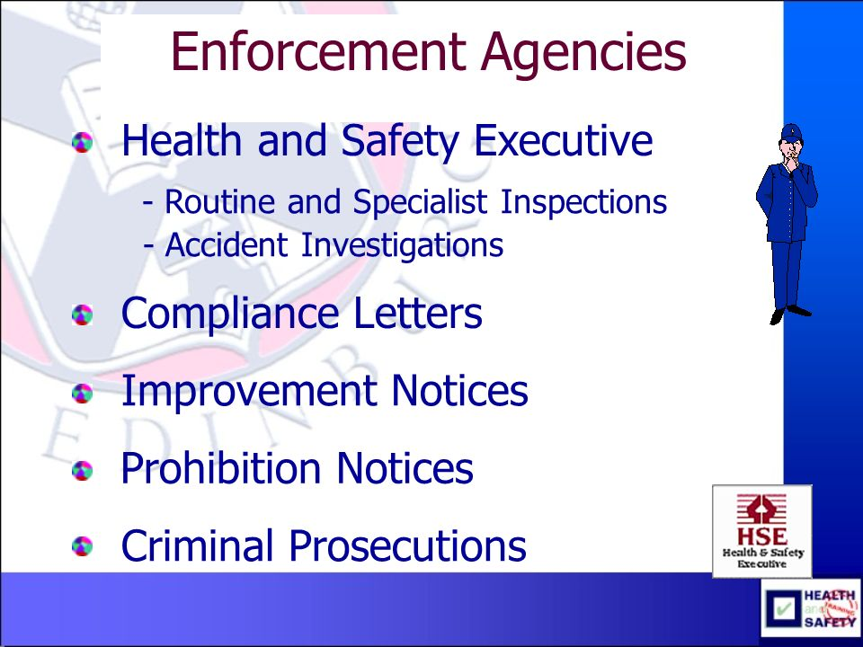 Health And Safety Department Ppt Download