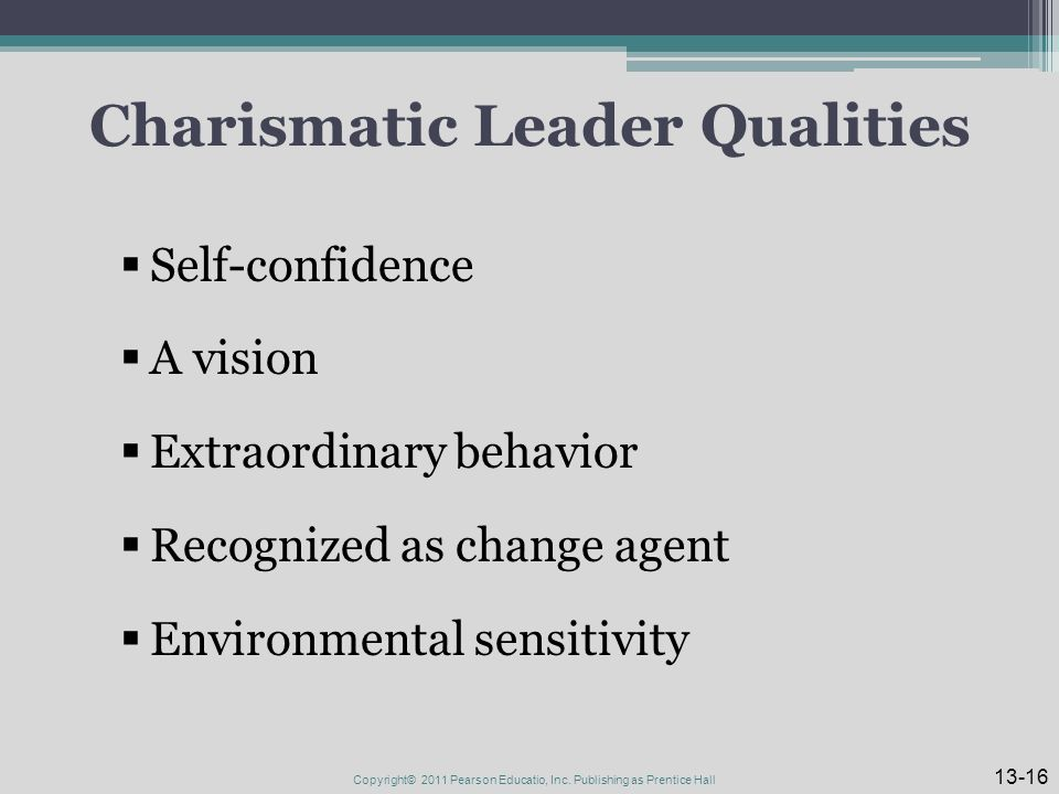 how to be a charismatic leader pdf