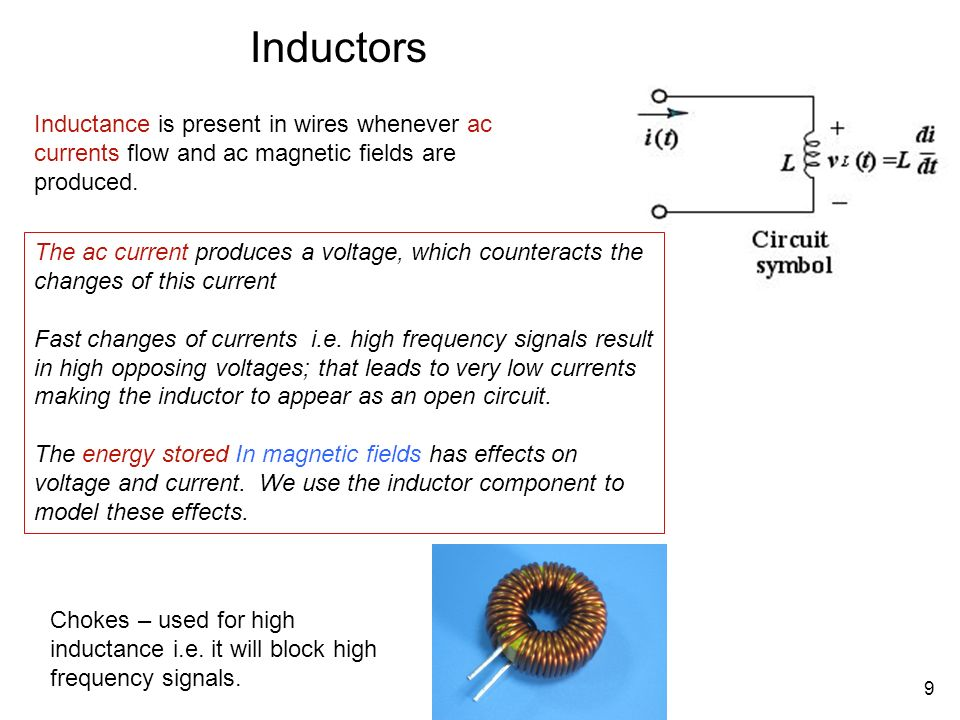 Why inductor block high frequency 28 images lessons in for Csc motor co inc girard il