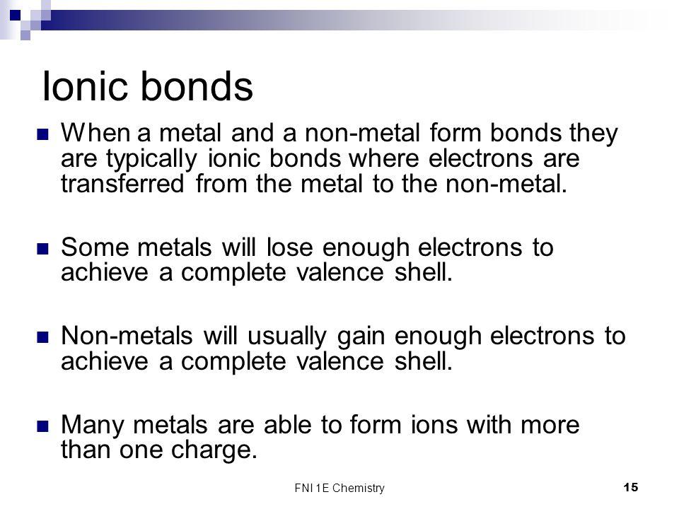 Nanochemistry FNI 1E Chemistry. - ppt download