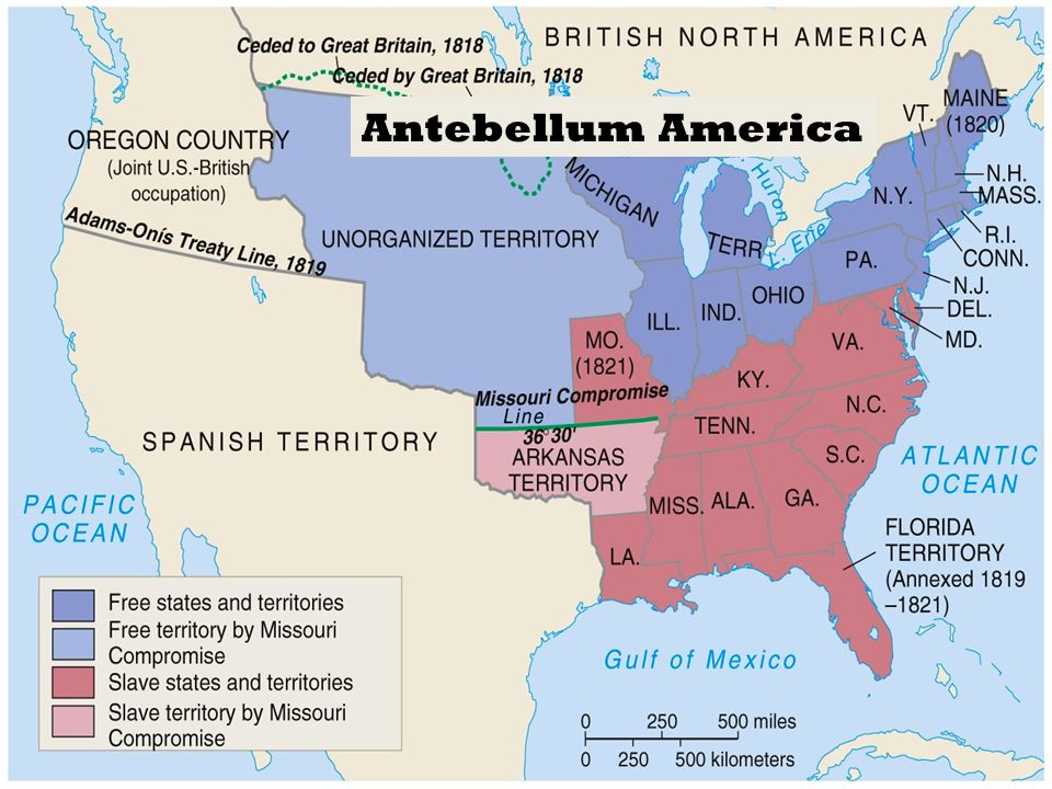 Unit 8 Antebellum America ________________ Ppt Video