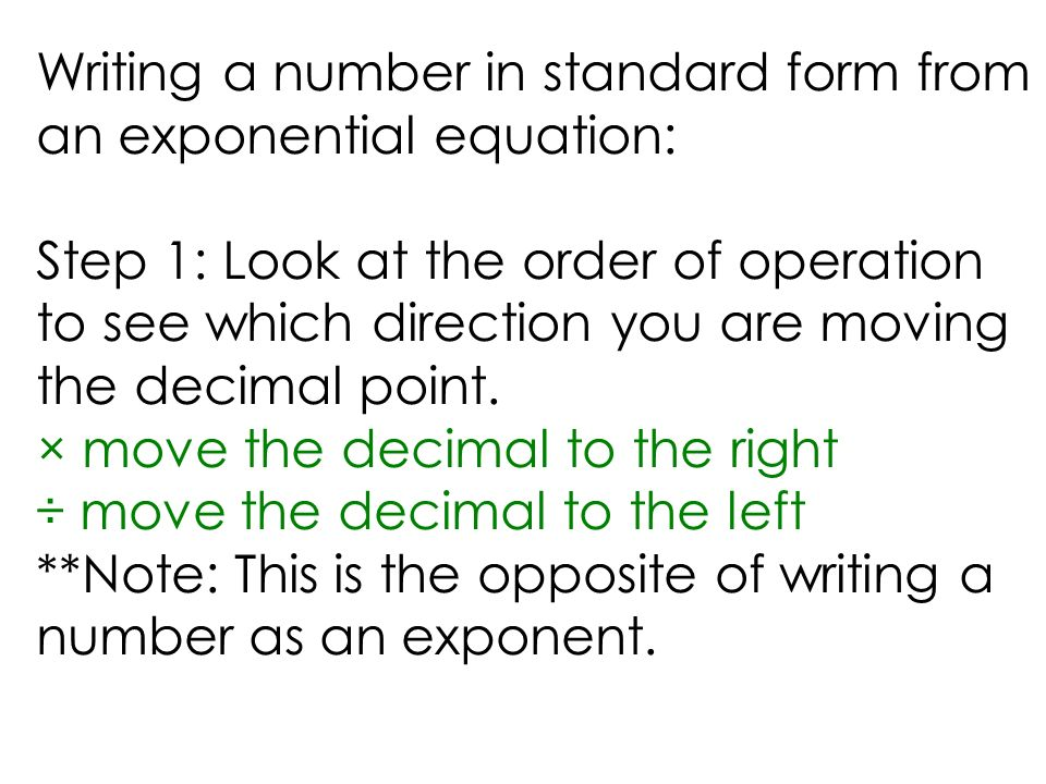 How Do You Write Numbers In Standard Form Custom Paper Help