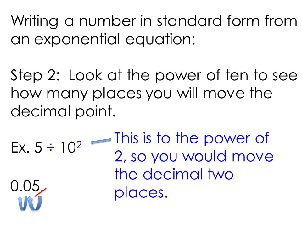Math 5 Using Exponents To Write Numbers Ppt Video Online Download
