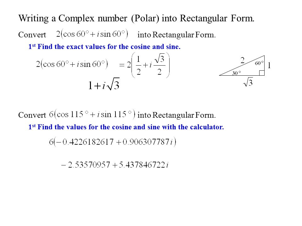 Section 8.1 Complex Numbers. - ppt download