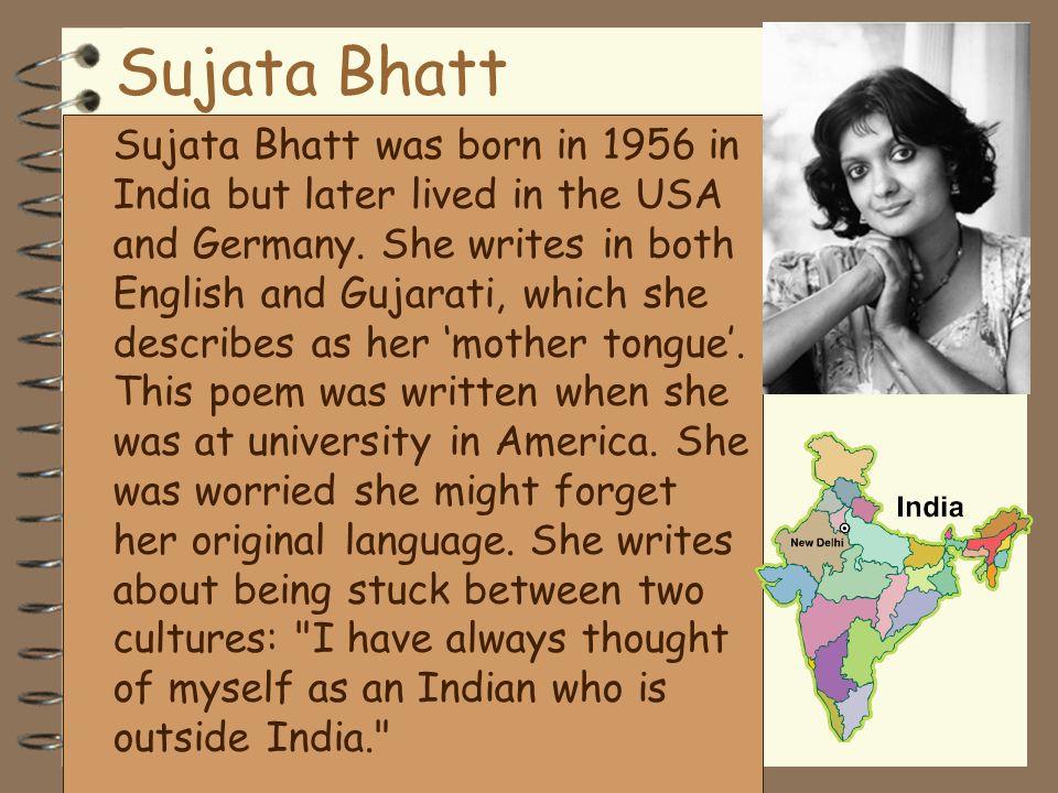 Sujata Bhatt