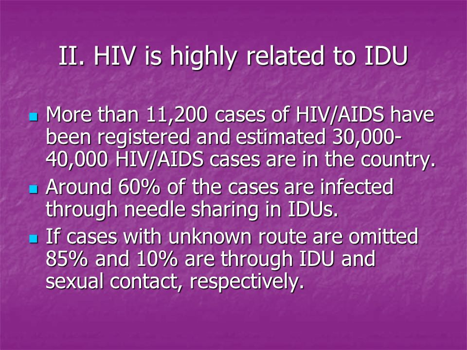 40000 infected with hiv