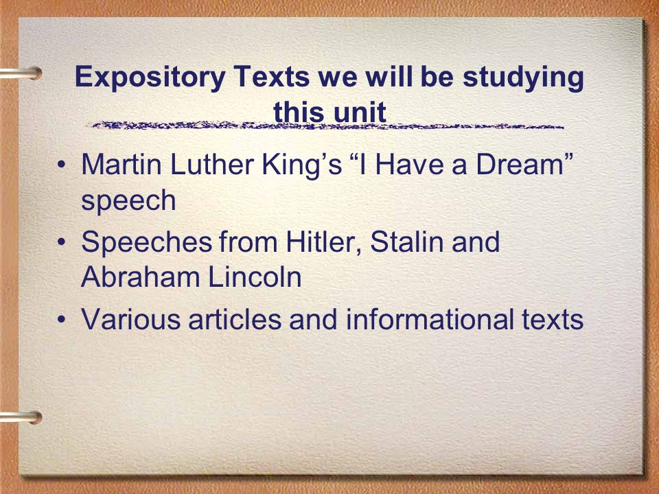 expository vocabulary unit 2 Flashcards and Study Sets ...