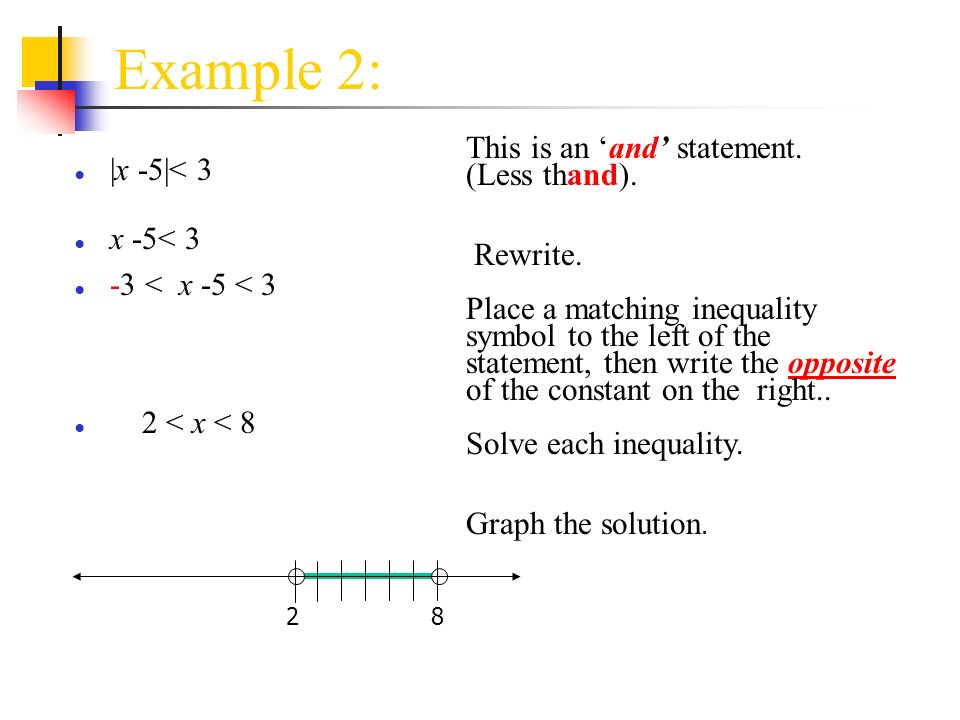 Inequalities that Describe Patterns