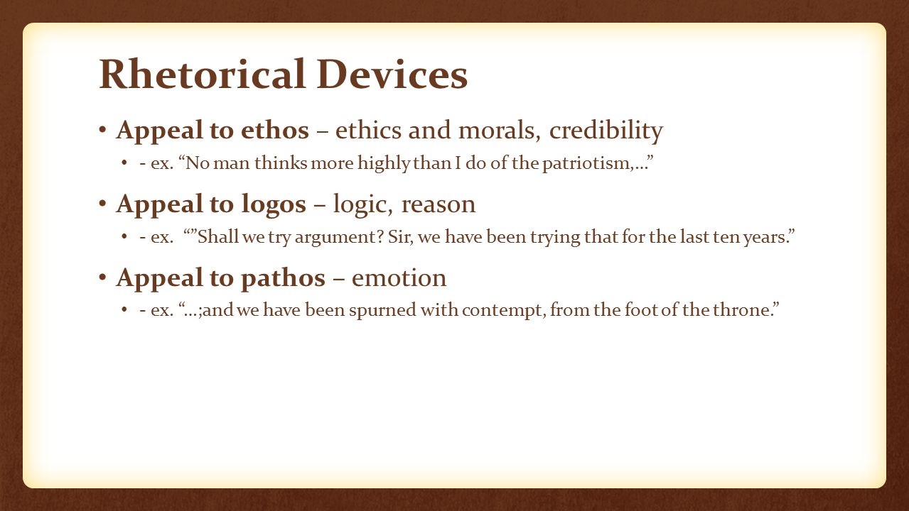 rhetorical appeals and ethical argument analysis