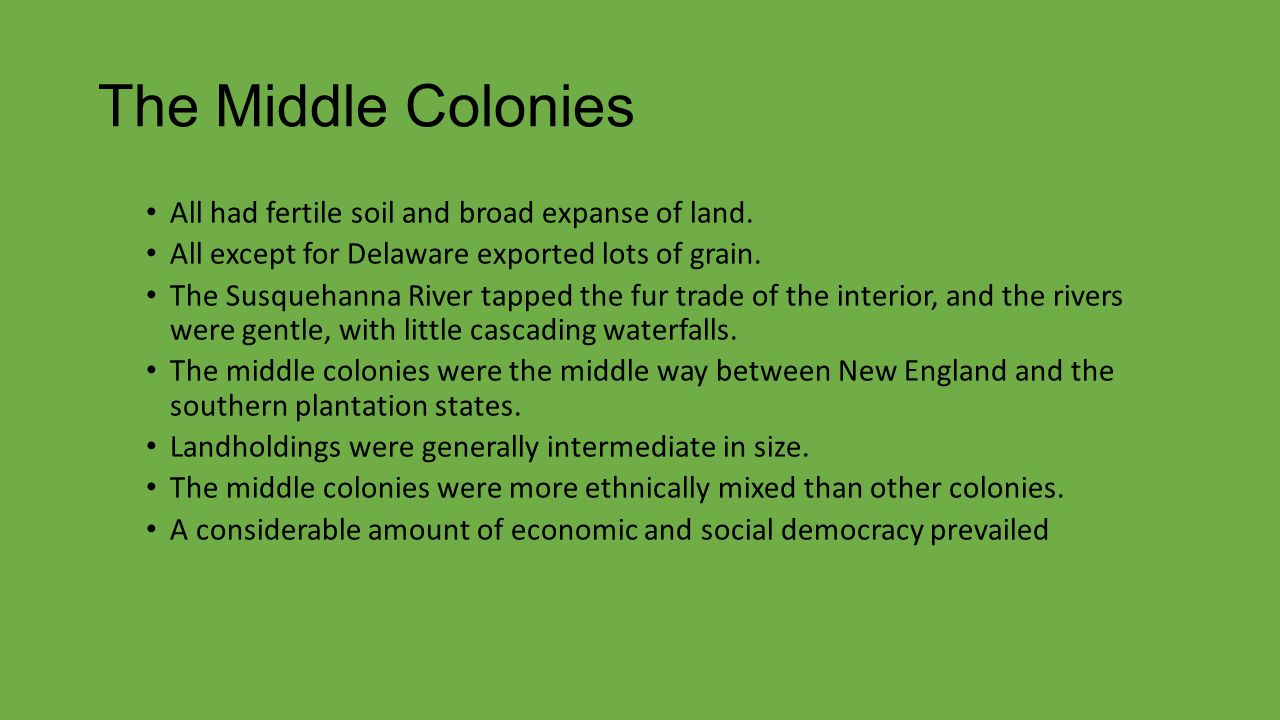 how the new england colonies were In short, the native americans were the first inhabitants of new england during the colonial period the puritans and other religious groups came to the colonies, and their descendants became figures in the american revolution.