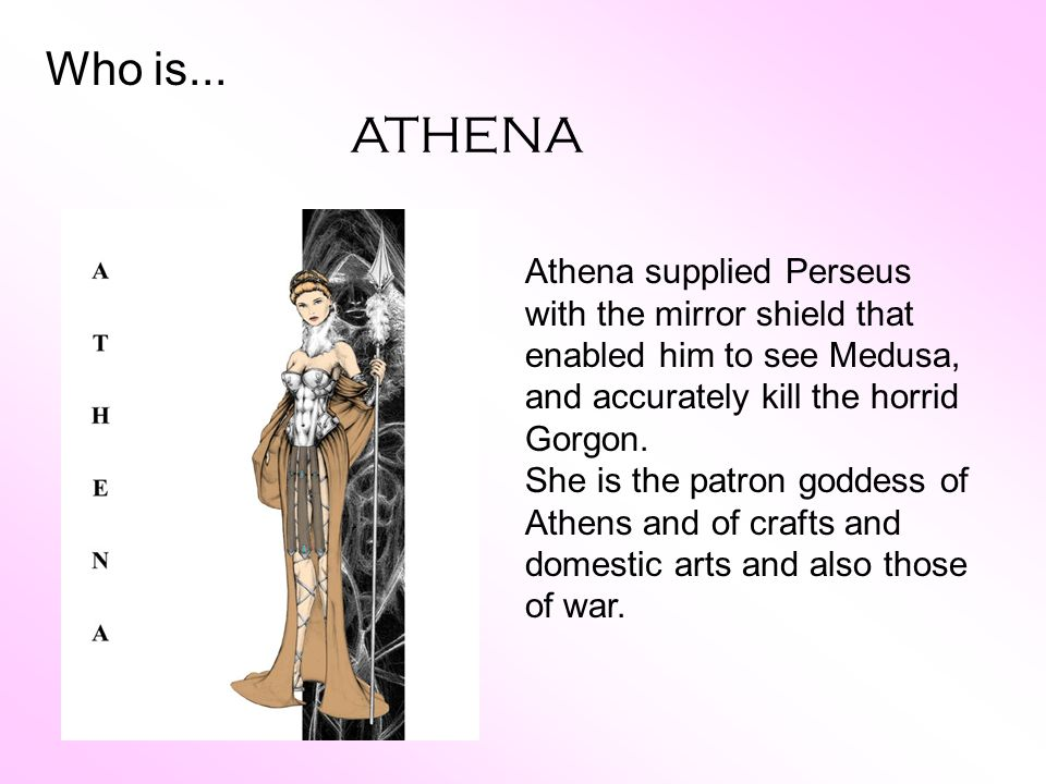 Athena Goddess Of Crafts And Domestic Arts