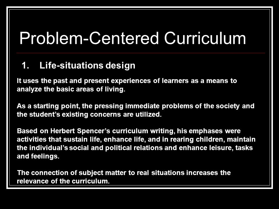advantages of subject centered curriculum design Student -centered vs subject -centered curriculum subject-centered vs student-centered approaches to instruction curriculum design.
