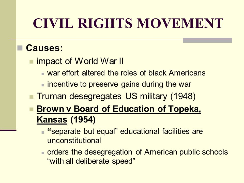 the impact of the case of brown versus board on american society and the educational system Full case name: oliver brown, et al v board of education of topeka, et al citations: 347 us 483  and a model for many future impact litigation cases  proclaiming that our.