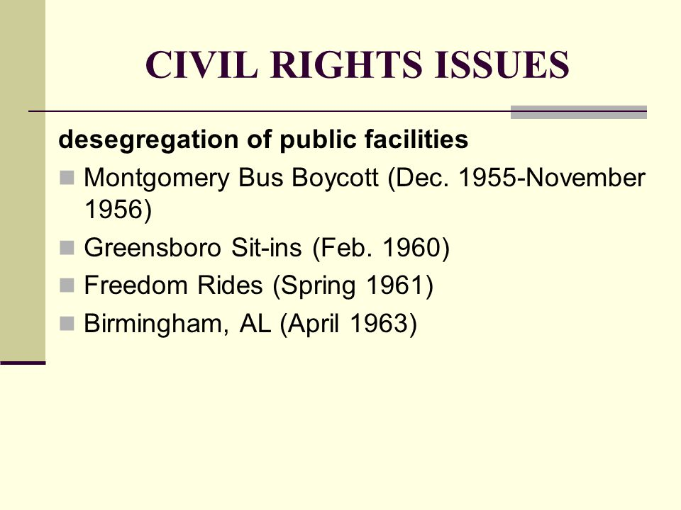 segregation from 1955 to 1963 essay Racial segregation in the united states 1955, in montgomery utah's marriage law had an anti-miscegenation component that was passed in 1899 and repealed in 1963.
