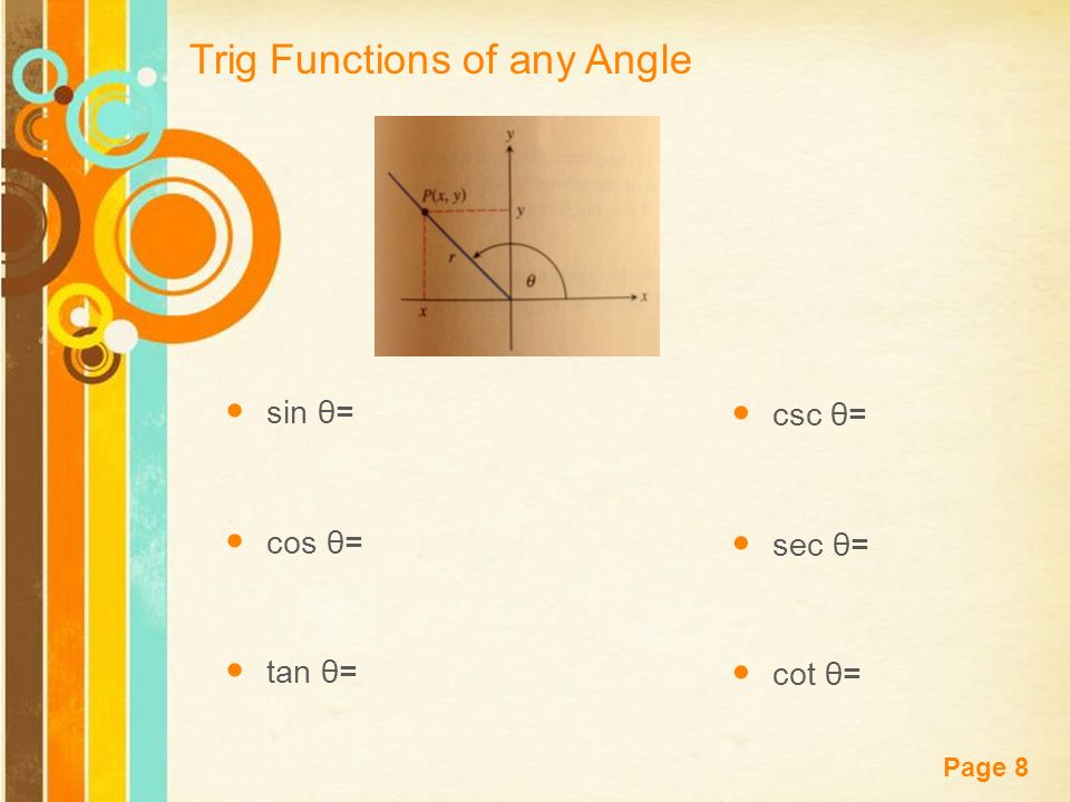 how to find sin of angle