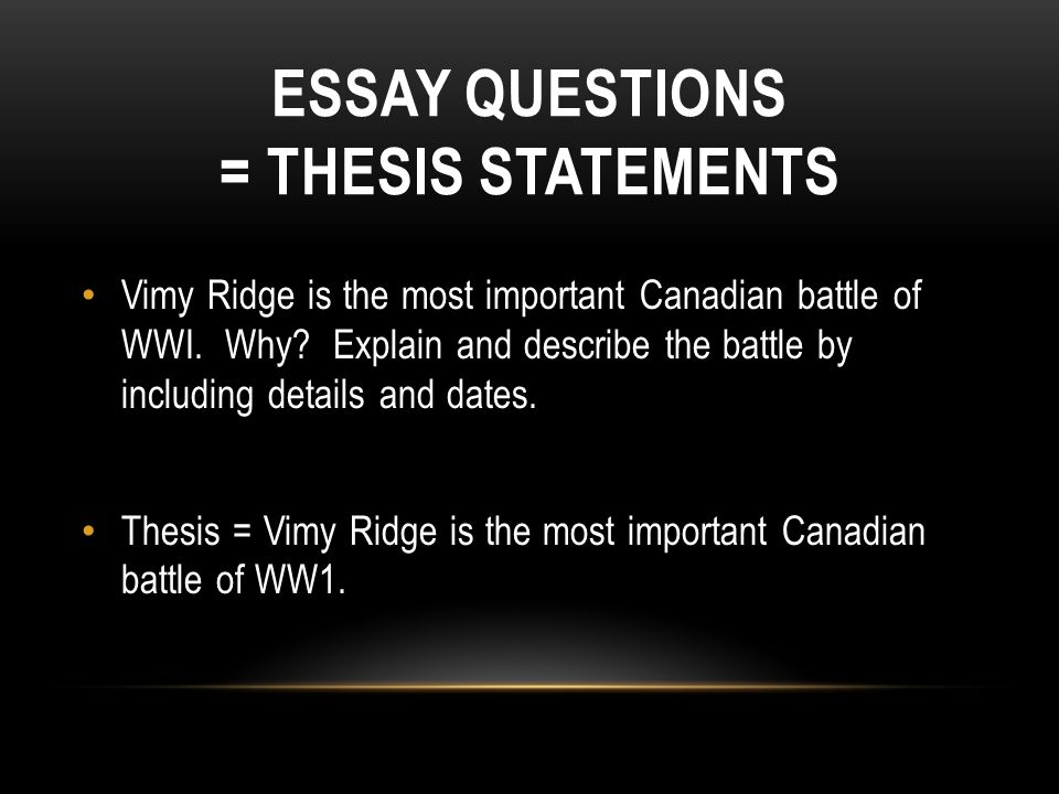 why is the thesis statement important in an essay As discussed before, thesis statements are, in one sense, the entire essay stated in a single sentence the thesis statement represents the whole unfortunately, students are taught parts—parts, parts, parts students learn that they must be able to write just one good sentence—then just one good paragraph.