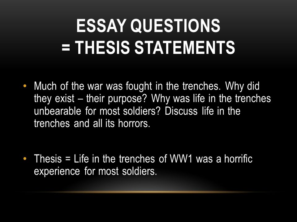 essay on life in the trenches of ww1 Most of us think of the world war 1 in terms of life and death in the trenches but only a relatively small proportion of the army actually served there.