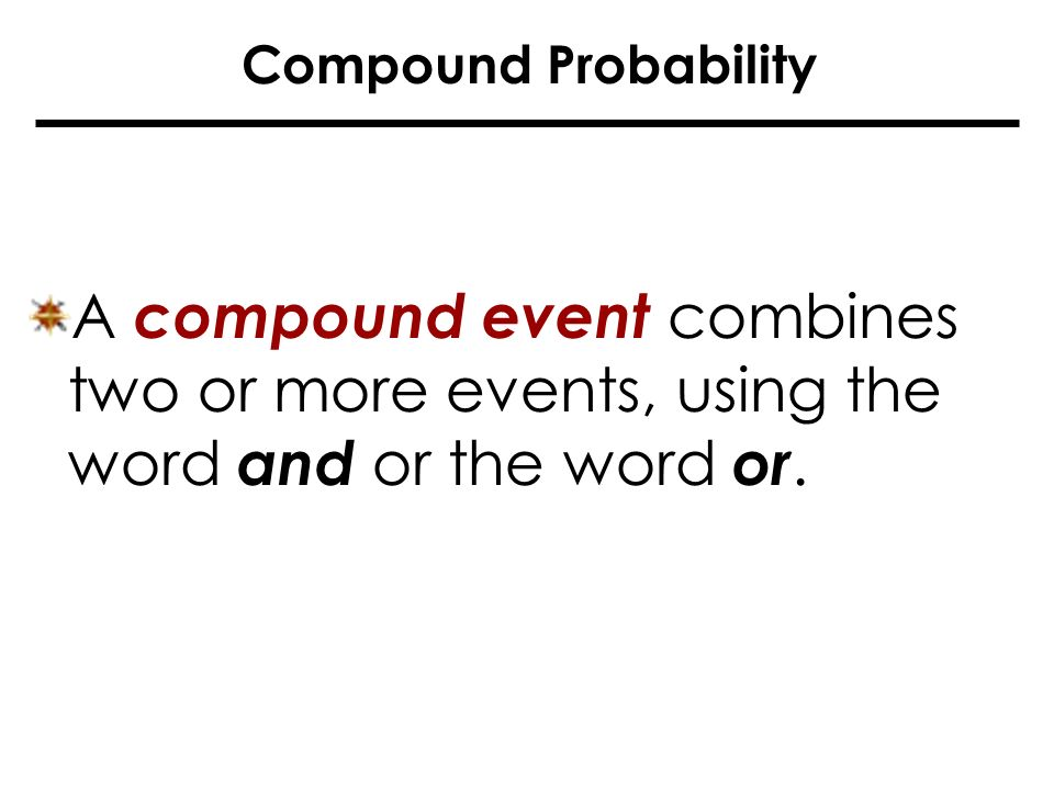 Compound events probability worksheet pdf