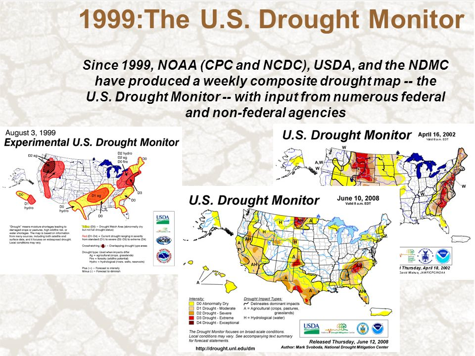 The US Drought Monitor And Beyond Ppt Download - Us dought map 2002