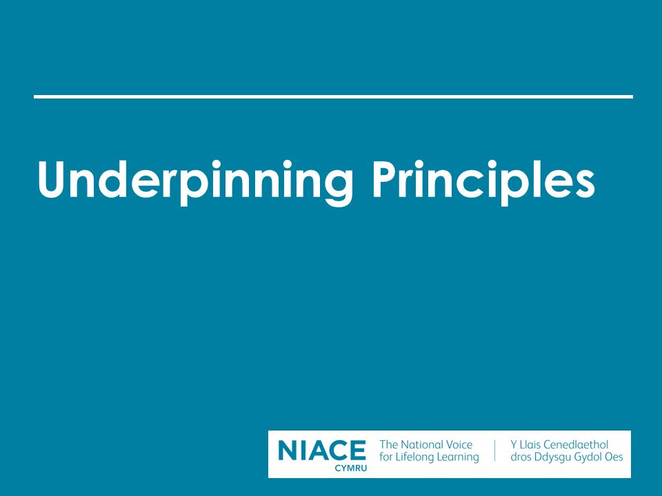 underpinning principles in early years The early years framework states that every child deserves the best possible  start  there are four principles underpinning the early years foundation stage.