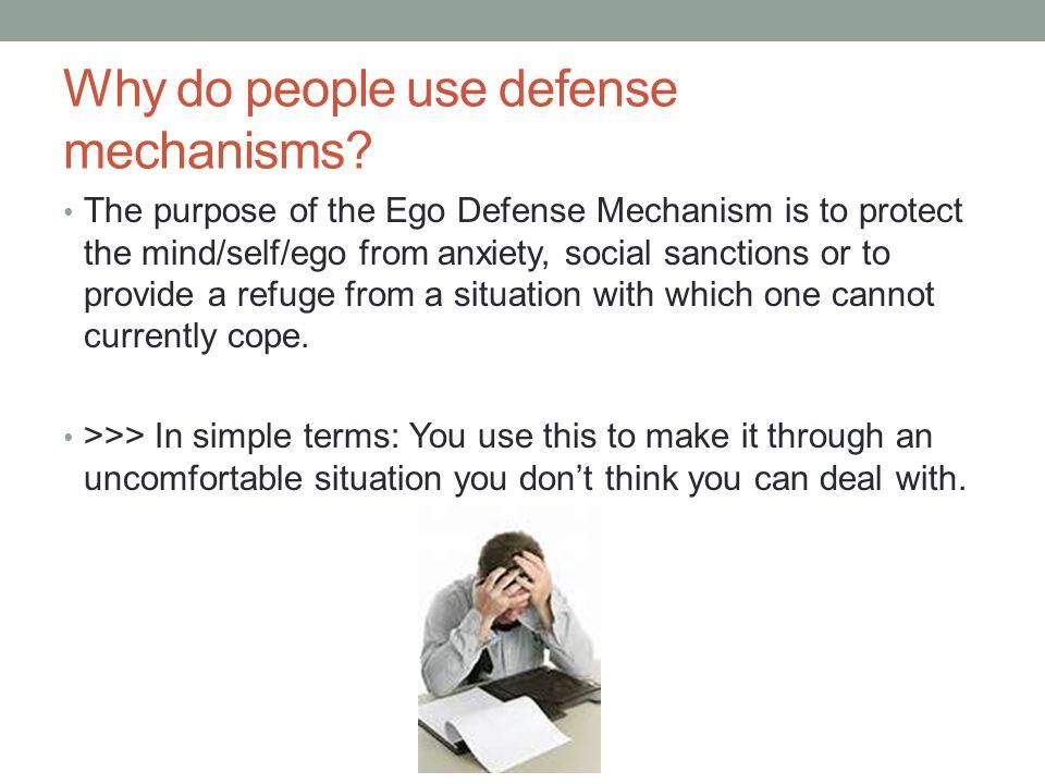 how to break down defense mechanisms