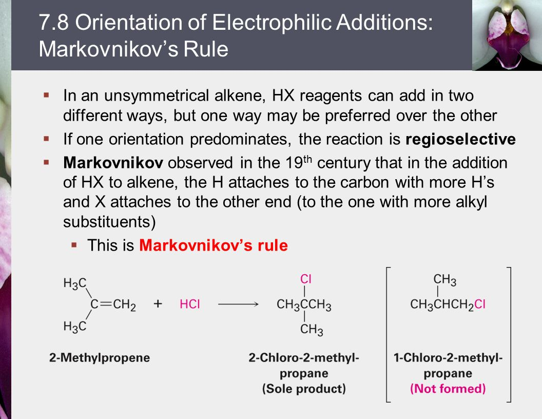 Lecture 10 alkene reactions ppt video online download for Rule of three meaning