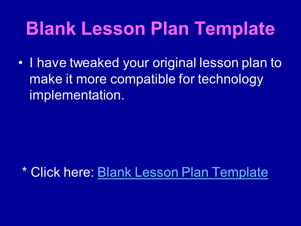 Technology Lesson Plan Template Image Collections Template Design