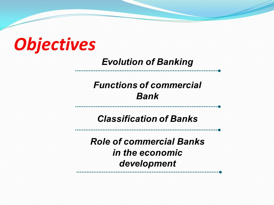 Role of commercial banks in development