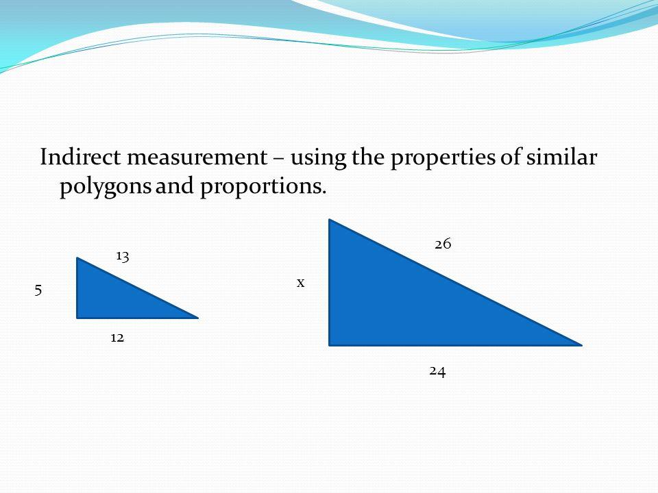 Indirect Measurement Lesson ppt download – Indirect Measurement Worksheet