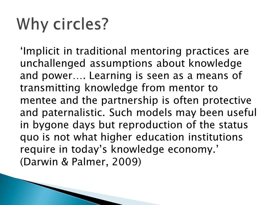 Why circles