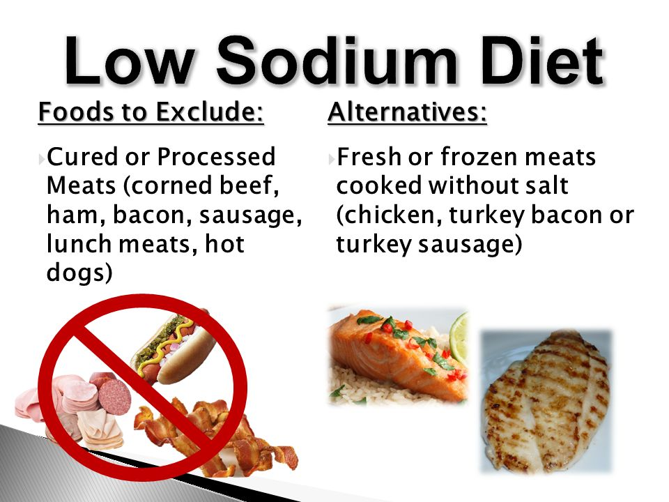 No Sodium Foods For Dogs