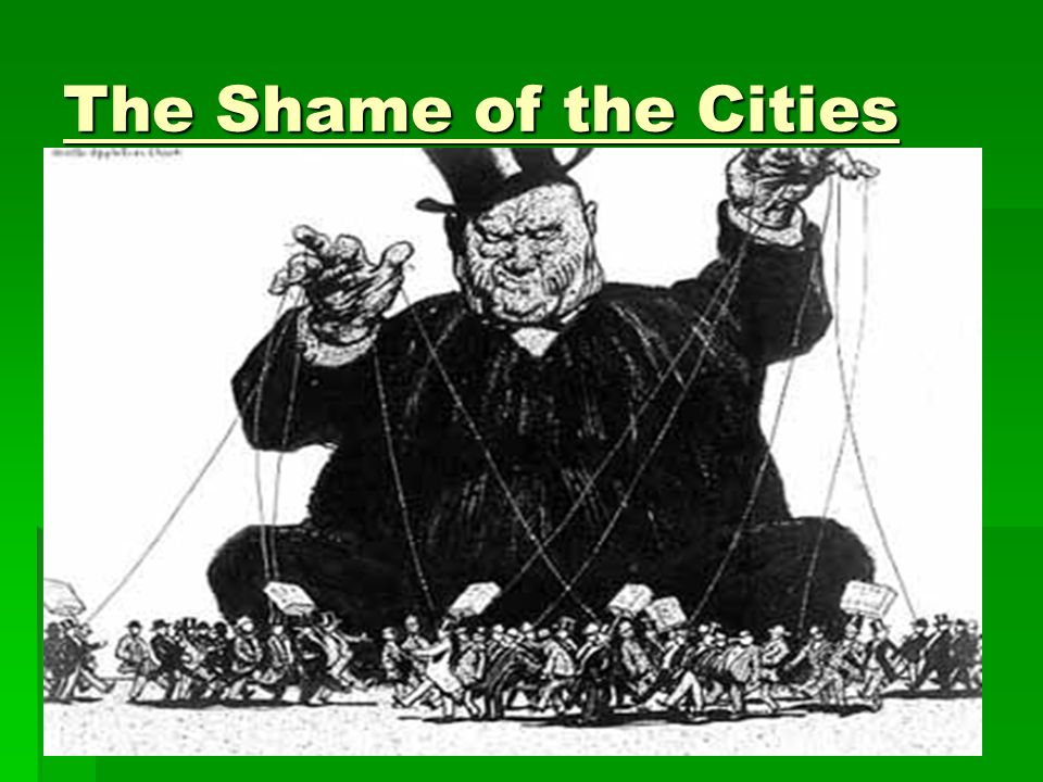 Exposing The Corruption Of Early 20th Century America