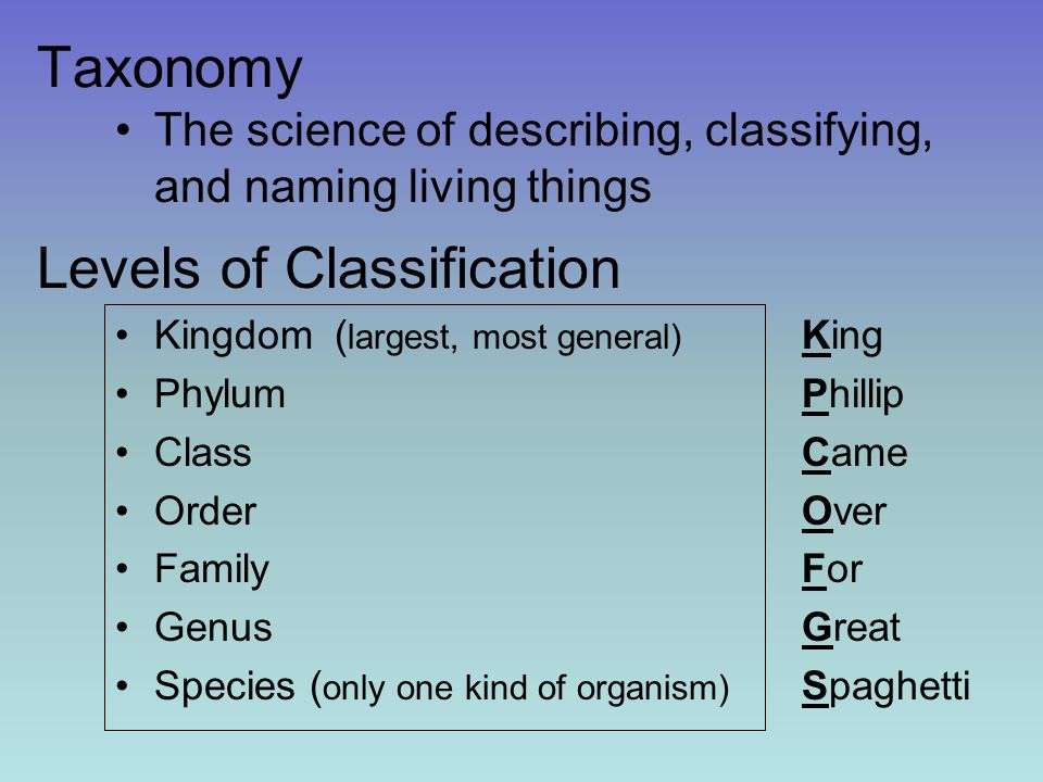 taxonomy and classification of living things Classification of living organisms crossword puzzle (taxonomy) preview diversity of life and classification of living things classification (taxonomy.