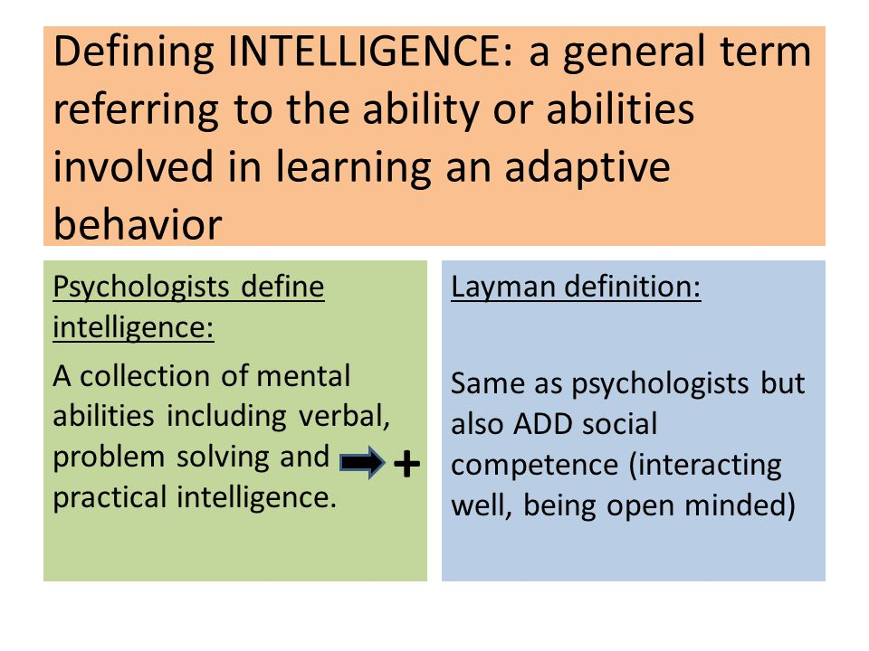 the theories on intelligence Learn about types of intelligence testing and the history of the intelligence testing movement by watching video and reviewing text lessons look.