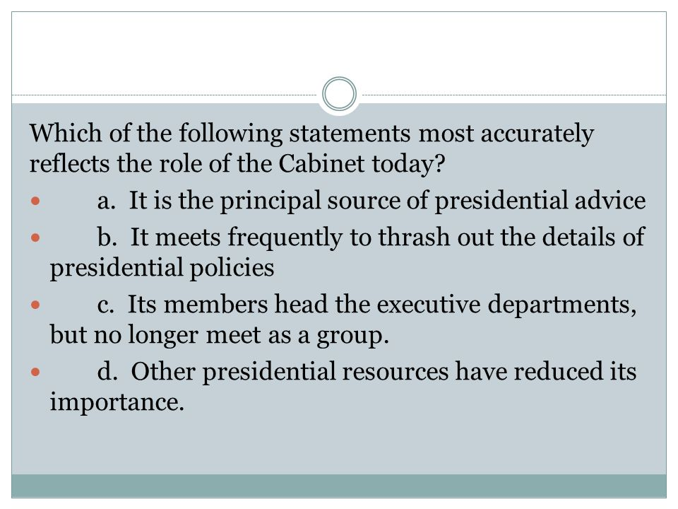Review for Quiz #2 Federalism & the Cabinet - ppt video online ...