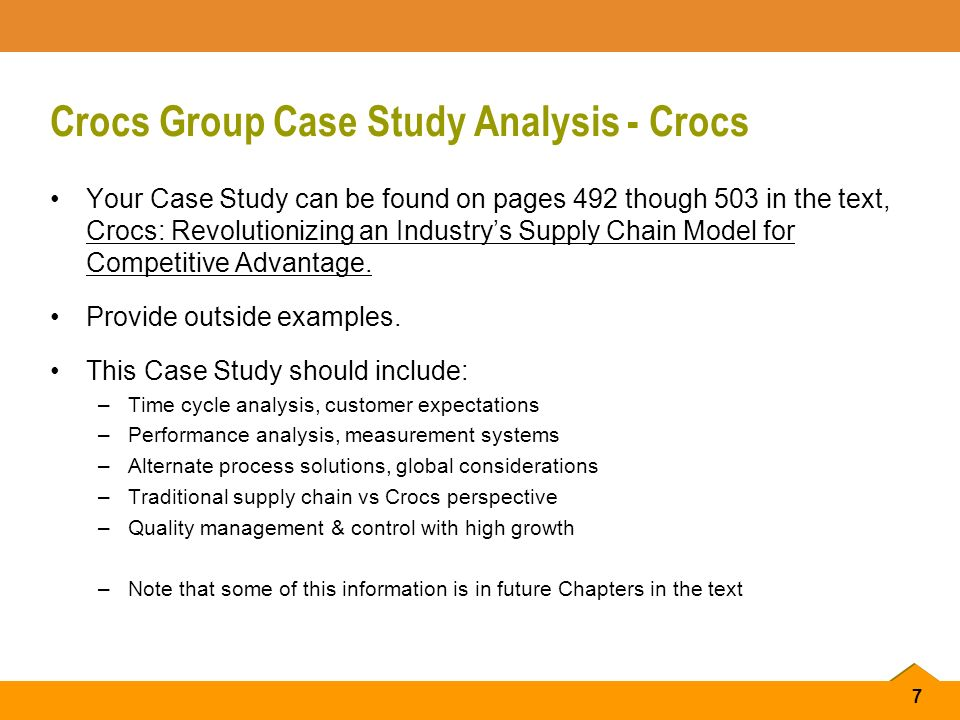 how crocs exploit these competencies in the future Crocs supply chain and competitive advantage add remove  how do they exploit these competencies in the future consider the following alternatives: a.
