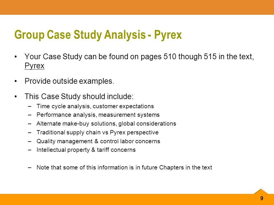 Performance measurement case study