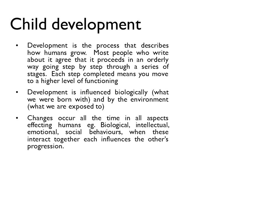 different aspects of child development Children came from different backgrounds which immensely affecttheir development children surrounded by strong learning andnurturing both at home and in school/ day care faci lities usuallydevelop positive and happy children on the contrary, if they areneglected and abused, they will be detracting from their naturaldevelopment.