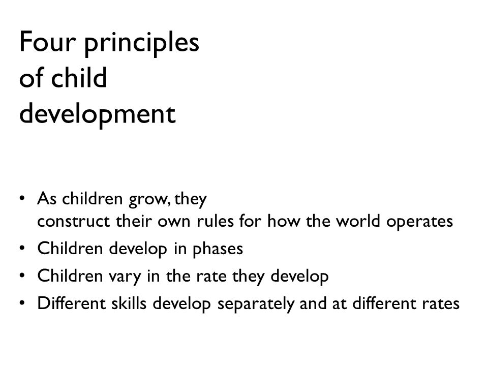 child development principles 4 big benefits of investing in early childhood development view summary  preventing the achievement gap, improving health outcomes, boosting earnings  and.